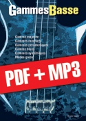 Gammes Basse (pdf + mp3)