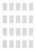 Diagrammes (6 cases) pour la guitare