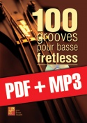 100 grooves pour basse fretless (pdf + mp3)
