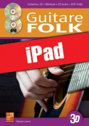 La guitare folk en 3D (iPad)