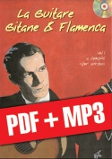 La guitare gitane & flamenca - Volume 1 (pdf + mp3)