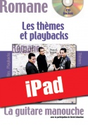 La guitare manouche - Thèmes & Playbacks (iPad)