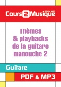 Thèmes & playbacks de la guitare manouche - 2