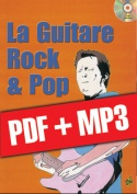 La guitare rock & pop (pdf + mp3)
