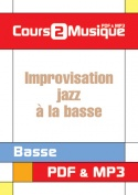 Improvisation jazz à la basse