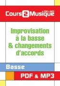 Improvisation à la basse & changements d'accords