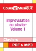 Improvisation au clavier - Volume 1
