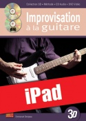 Improvisation à la guitare en 3D (iPad)