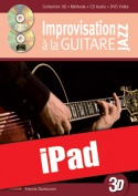 Improvisation jazz à la guitare en 3D (iPad)