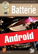 Initiation à la batterie en 3D (Android)