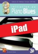 Initiation au piano blues en 3D (iPad)