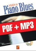 Initiation au piano blues (pdf + mp3)