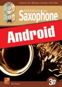 Initiation au saxophone en 3D (Android)