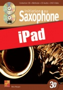 Initiation au saxophone en 3D (iPad)