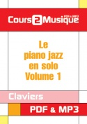Le piano jazz en solo - Volume 1