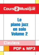 Le piano jazz en solo - Volume 2