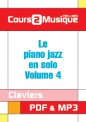 Le piano jazz en solo - Volume 4