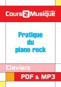 Pratique du piano rock