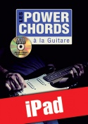 Les power chords à la guitare (iPad)
