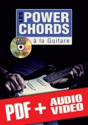Les power chords à la guitare (pdf + mp3 + vidéos)