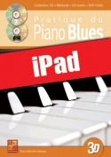 Pratique du piano blues en 3D (iPad)