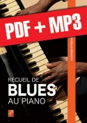 Recueil de blues au piano (pdf + mp3)