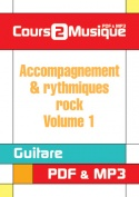 Accompagnement & rythmiques rock - Volume 1