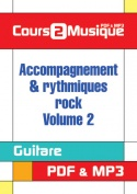 Accompagnement & rythmiques rock - Volume 2