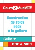 Construction de solos de rock à la guitare
