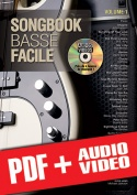 Songbook Basse Facile - Volume 1 (pdf + mp3 + vidéos)