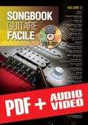 Songbook Guitare Facile - Volume 2 (pdf + mp3 + vidéos)