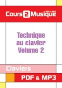 Technique au clavier - Volume 2