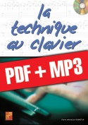 La technique au clavier (pdf + mp3)