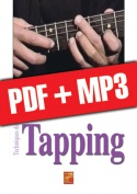 Techniques du tapping à la guitare (pdf + mp3)