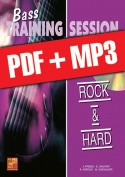 Bass Training Session - Rock & hard (pdf + mp3)
