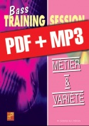 Bass Training Session - Métier & variété (pdf + mp3)