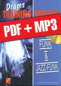 Drums Training Session - Funk & jazz-funk (pdf + mp3)