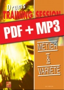 Drums Training Session - Métier & variété (pdf + mp3)