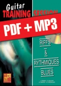 Guitar Training Session - Riffs & rythmiques blues (pdf + mp3)