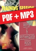 Guitar Training Session - Riffs & rythmiques rock (pdf + mp3)