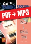 Guitar Training Session - Solos & impros hard (pdf + mp3)