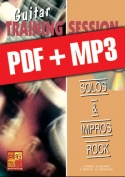 Guitar Training Session - Solos & impros rock (pdf + mp3)