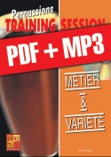 Percussions Training Session - Métier & variété (pdf + mp3)