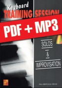 Keyboard Training Session - Solos & improvisation (pdf + mp3)