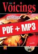 Les voicings de la guitare (pdf + mp3)