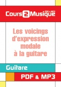 Les voicings d'expression modale à la guitare