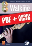 La walking bass en 3D (pdf + mp3 + vidéos)