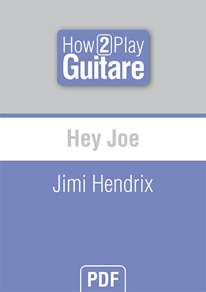 Hey Joe - Jimi Hendrix