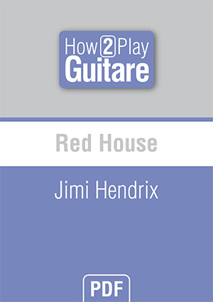 Red House - Jimi Hendrix