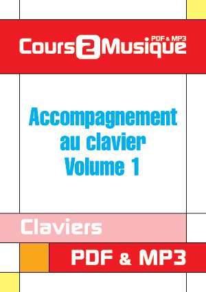 Accompagnement au clavier - Volume 1